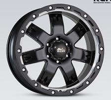 """17"""" RCW bedrock alloy wheels suit Ford Ranger XL XLT Wildtrack 17x9 +40 offset"""