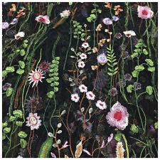 1 Yard Vintage Floral Embroidery Mesh Wedding Dress Lace Fabric 53 inch Wid W9W6