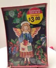18 Angel, Holly leaves and berries Christmas Cards by Paper Magic Group