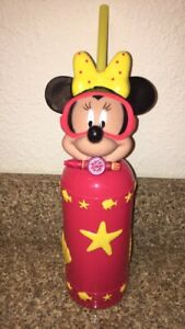 Disney Cruise Line Snorkeling Minnie Mouse Water Bottle ~ Shells ~ Fish