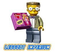 LEGO Minifigure Simpsons S2 - Waylon Smithers - minifig colsim2-15 FREE POST
