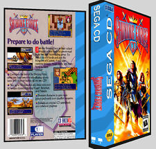 Shining Force CD - Sega CD Reproduction Art DVD Case No Game