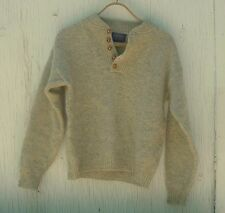 VINTAGE PENDLETON Sweater, 100% Pure Virgin Wool, Grey, Sz S