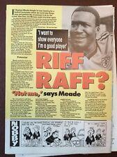 J1c Ephemera Football Article Raphael Meade Dundee United