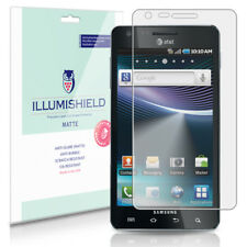 iLLumiShield Matte Screen Protector w Anti-Glare/Print 3x for Samsung Infuse 4G