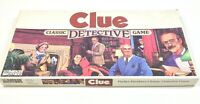 Vintage 1986 Clue Classic Detective Board Game Parker Brothers 100% Complete