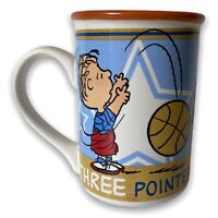 Linus Three Pointer Peanuts Coffee Mug cup 2011 Surround Image Charlie Brown
