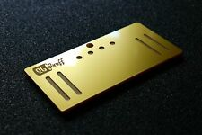 OG Snuff Metallic Gold sniffing board