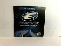 Game Shark 2 PS2 Disc 2 SLEEVE ONLY authentic Original