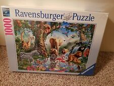 Adventures in the Jungle 1000 Piece Puzzle~Ravensburger~#198375~New with seal