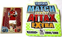 Choose MATCH ATTAX EXTRA 2010 2011 Topps 10/11 SHOWBOAT & STAR SIGNING Cards