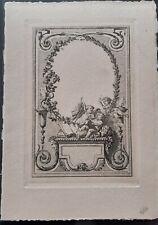 RARE+Gravure avant la lettre+Hector Maquet+Epreuve+Papier Impératrice+Maquet