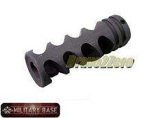 Airsoft DNTC 308 Style Flash Hider 14mm Counter-Clockwise CCW