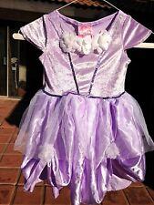 Lilac purple Sophia or Rapunzel Princess Dress sz 4-6X play costume Soft silky