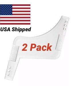 Beard Shaping Template 2Pack