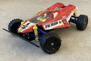 Tamiya Fire Dragon 58078 Vintage Version From 1989! New Built 4WD Buggy.