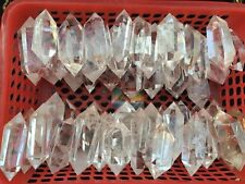 WHOLESALE PRICE! 2.2lb NATURAL CRYSTAL QUARTZ DT WAND POINT HEALING