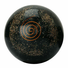 Tourmaline Orgone Sphere Ball Table Home Decor Reiki Healing Stone For Gift