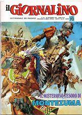 IL GIORNALINO n.38/1970 giusva fioravanti alberto salinas nino ferrer caster'bum