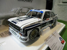 FORD ESCORT II RS1800 NURBURGRING 1979 1/18 MINICHAMPS 100768432 voiture miniatu