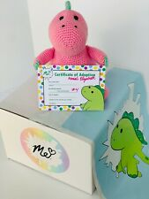 Pickle Crochet Plushie LIMITED Handmade by Moriah Elizabeth's Mom Signed Cert #4