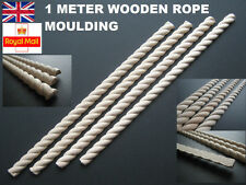 20 metri Di Corda LINEA DI CONFINE mouldnig Trim APPLIQUE shabby chic in legno stampaggio