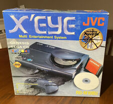 JVC X'Eye video game system Genesis Sega CD console combo in box with manual