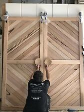 Recycled Hardwood Timber Barn Doors