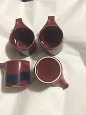 EXCELLENT CONDITION Set of 4 Thomas Rosenthal Celtic Line Coffee Mugs