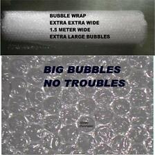 HOME  & GREEN HOUSE INSULATION LARGE BUBBLE WRAP  150 cm WIDE 5 M LONG FREE SHIP