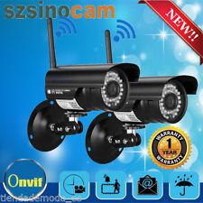 2X Szsinocam Außen 720P IP Netzwerk Wlan Kamera Überwachungskamera Funk Outdoor