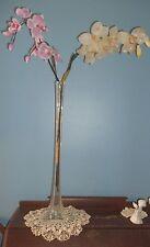 "Tall Eiffel Tower Glass Flower Vase~23"" Tall~VGCs"