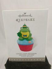 Hallmark Keepsake Ornament 2016 Lucky Leap-Rechaun Cupcake - Cupcake Series- NIB