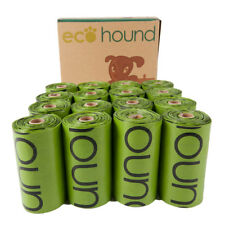 Biodegradable 240 Dog Poop Bags 16 Rolls With 15 Poo per Roll Eco Friendly...