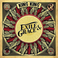 King King Exile & Grace Hand Signed Autographed Limited 2x LP Red Vinyl 2017