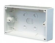 B&G Standard White Home Electrical Fittings