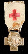 FRANCE GREAT WAR RED CROSS AWARD 1914/1918