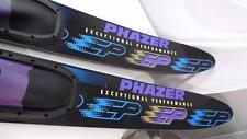 "PHAZER EP VELOCITY SERIES EXCEPTIONAL PERFORMANCE WATER SKI SET OF 2 USED 66.5"""