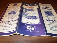 1930s MWM Pennsylvania/New Jersey Vintage Road Map