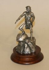 1991 Chilmark Don Polland Pewter Figurine Apache Indian Scout 5896 2270/2500