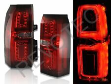 15-18 Chevy Suburban Tahoe SUV LS LT LTZ LED Tail Lights G2 Red