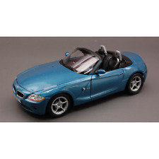 Bmw Z 4 2002 Blue 1 24 Welly Auto Stradali Die cast Modellino