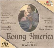 Young America: Choral Works of Gordon Getty [Hybrid SACD], New Music