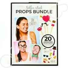 20 Piece Photo Party Wedding Funny Prop Kit With Sticks