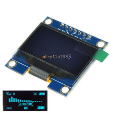 """1.3"""" Blue SPI Serial 128x64 OLED LCD Display Screen Module For Arduino UNO"""