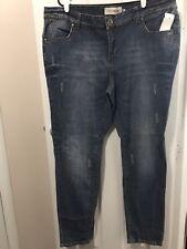 Women's ECKO REDENIM Skinny Leg Distressed Lite wash, 22x33, Cotton Blend, NWT