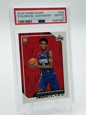 2018-19 NBA Hoops Shai Gilgeous-Alexander Rookie Card PSA 10 - Invest - Thunder