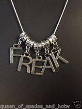""" FREAK Sexy Necklace "" Hotwife Swinger Lifestyle Jewelry Cuckold QOS BBC 03"
