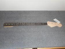 NEW - Fender Jazz Bass Neck, Ebony Fingerboard, No Finish, #JEO