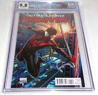 Ultimate Spider-Man #1 CGC Universal Grade VAR Edition 9.8 Origin Miles Morales